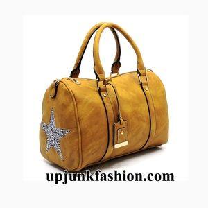 Handbags - Star Boston Bag